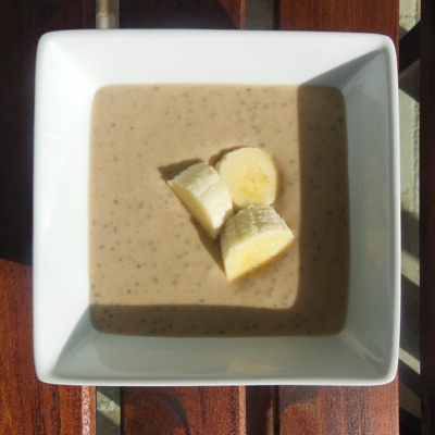 Pb   banana chia pudding